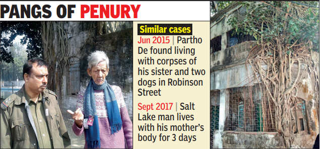 No money for cremation, doctor lives with sister's body for 2 days