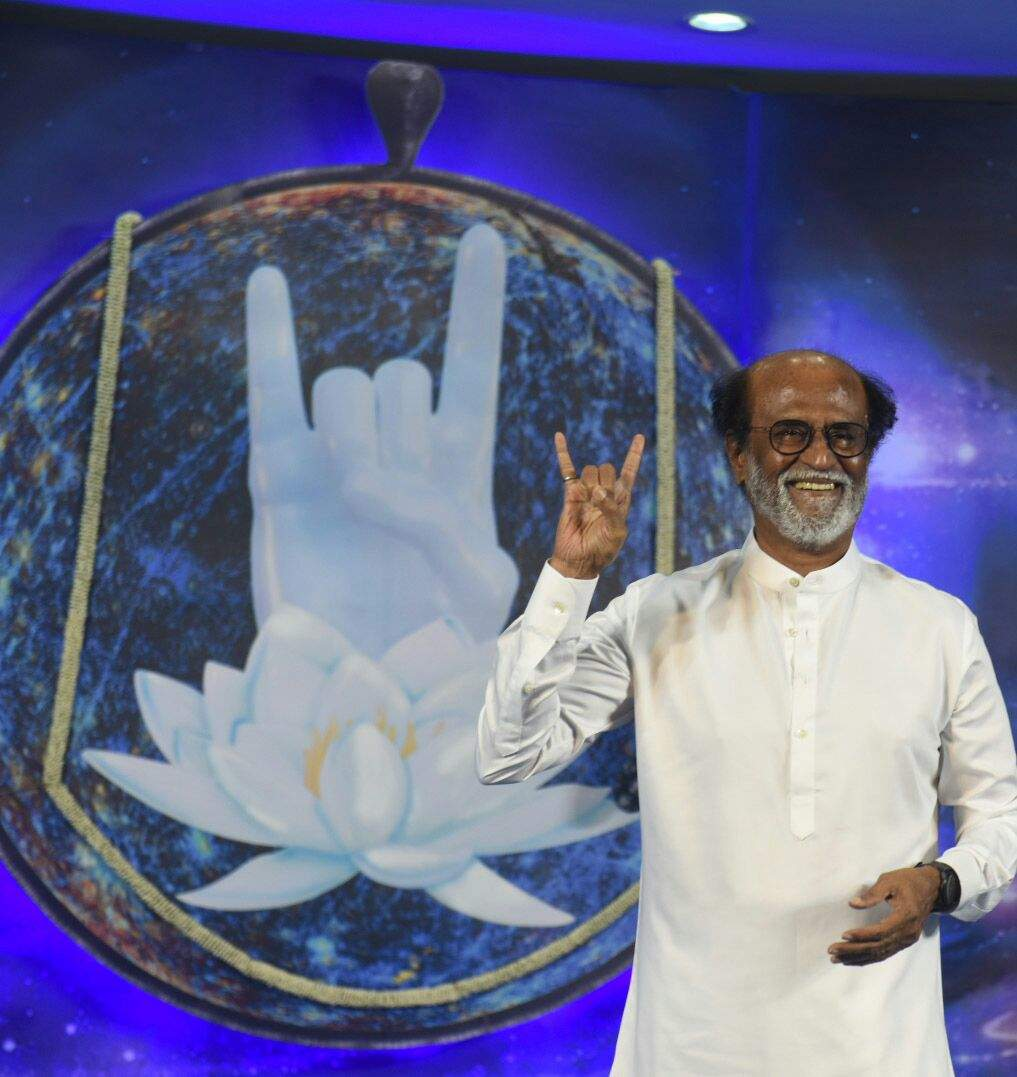 Live: Rajinikanth to announce political plans today squib