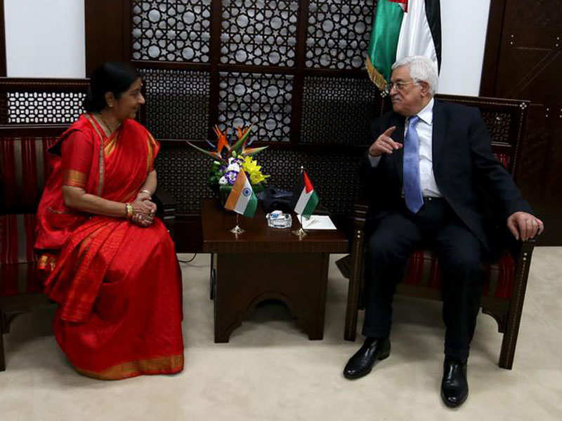 Palestine says India ties very important, recalls envoy who shared dais with Hafiz Saeed - Times of India