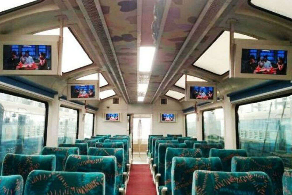 Indian Railways to introduce fireproof coaches with Chandigarh Shatabdi