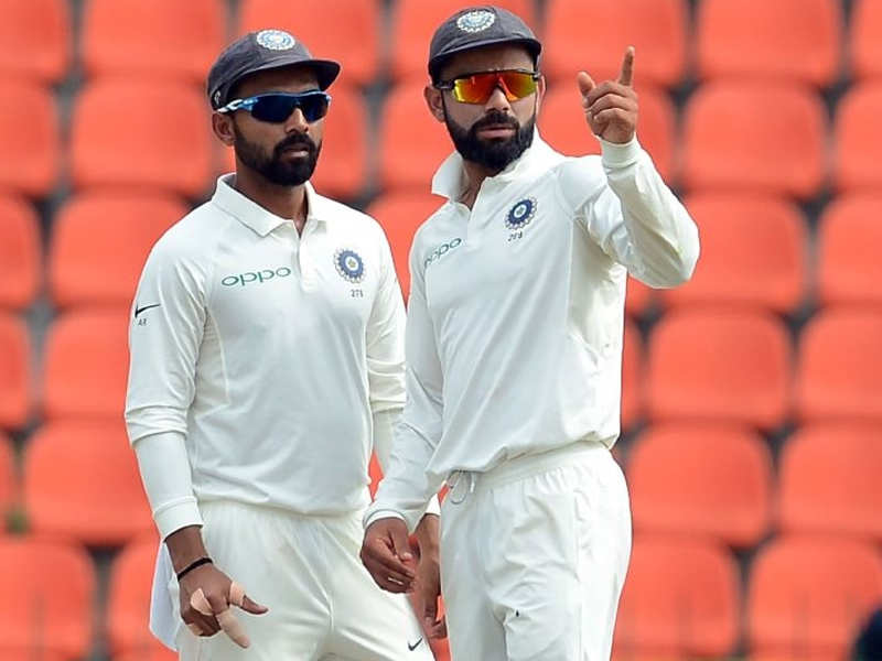 Funny, people who wanted Rahane out now want him in, says Kohli - Times of India