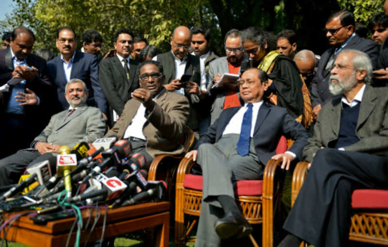 CJI silent, opinion divided as 4 judges publicly question SC's functioning