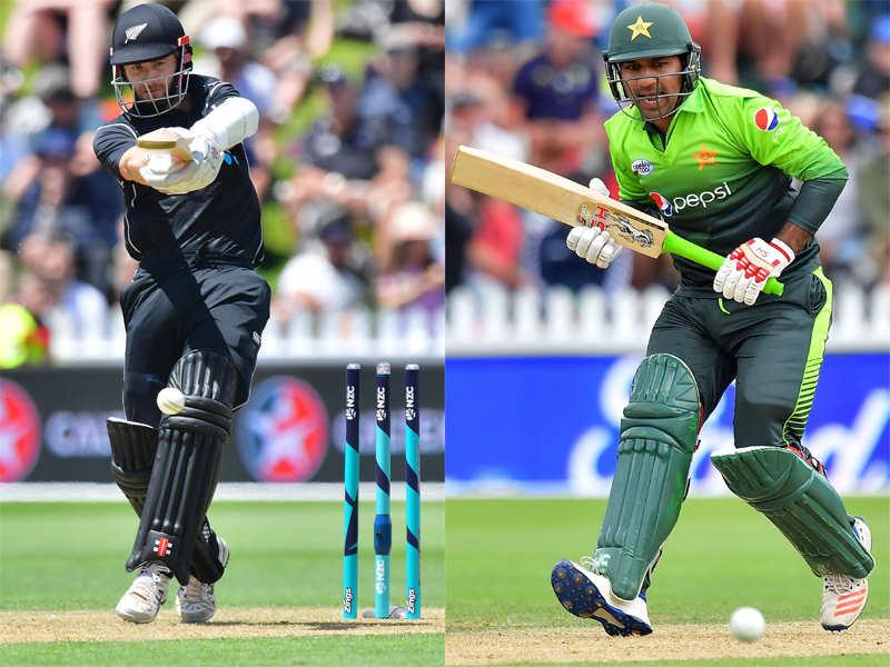 Live Cricket Score New Zealand Vs Pakistan 3rd Odi Dunedin The Times Of India