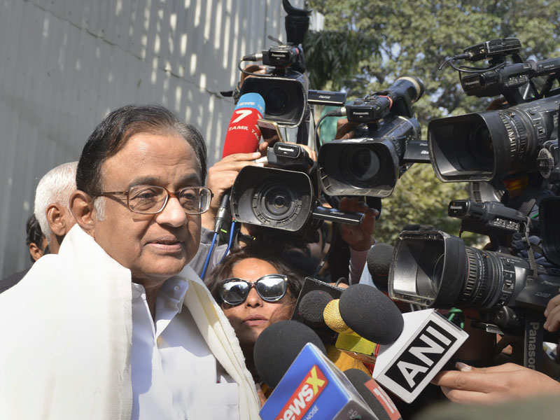 ED abusing power at behest of government, won't bow down: Chidambaram - Times of India