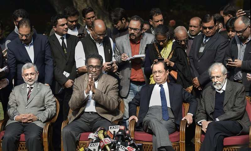 Day 2 of crisis in Supreme Court: Top developments - Times of India
