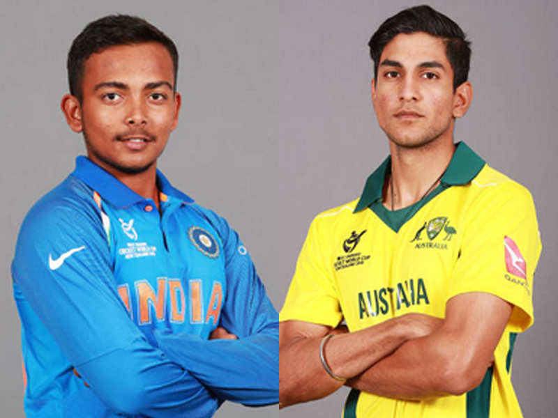 ICC U-19 Cricket World Cup 2018: Live Cricket Score, India vs Australia, 7th Match, Mount Maunganui - The Times of India