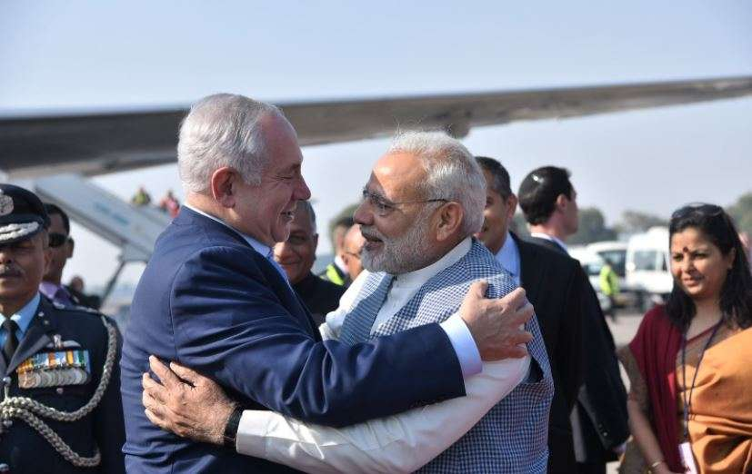 PM Modi breaks protocol to receive Israeli counterpart in Delhi - Times of India