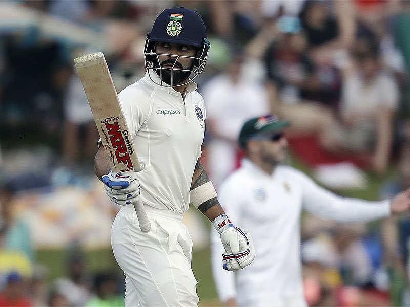 India v South Africa, 2nd Test: Steely Virat Kohli leads India's fightback on sloppy day - Times of India