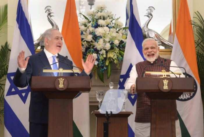Israel PM Netanyahu hails Narendra Modi as a 'revolutionary leader' - Times of India