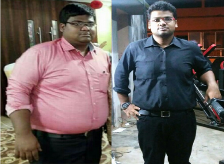 Weight Loss Story This Diet And Workout Helped Him Lose 40 Kgs In 11 Months Times Of India