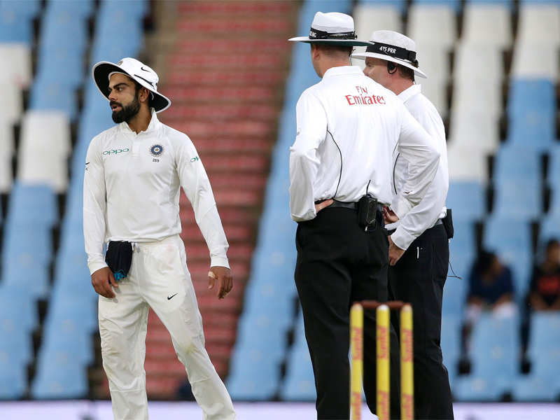 India vs South Africa: Virat Kohli fined for breaching ICC code of conduct - Times of India