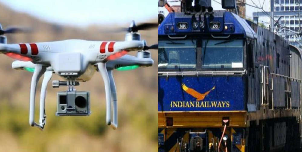 Indian Railways will now deploy drones to control traffic and monitor rescue ops