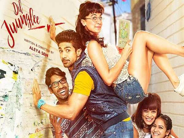 'Dil Juunglee' trailer: Taapsee Pannu, Saqib Saleem along with the entire cast bring to you a perfect cocktail of romance and comedy
