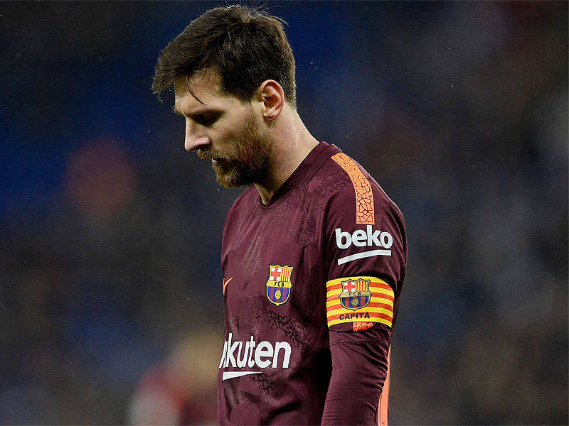 Copa del Rey: Missed Messi penalty costs Barca in cup derby defeat | Football News