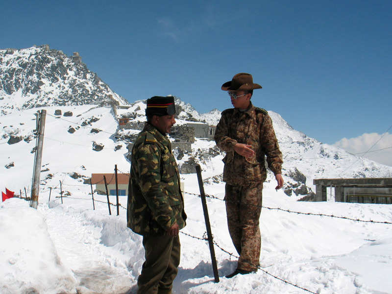 No change in status quo at Doklam: MEA - Times of India