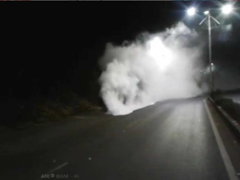 Two hospitalised, village evacuated after ammonia gas leak in Goa
