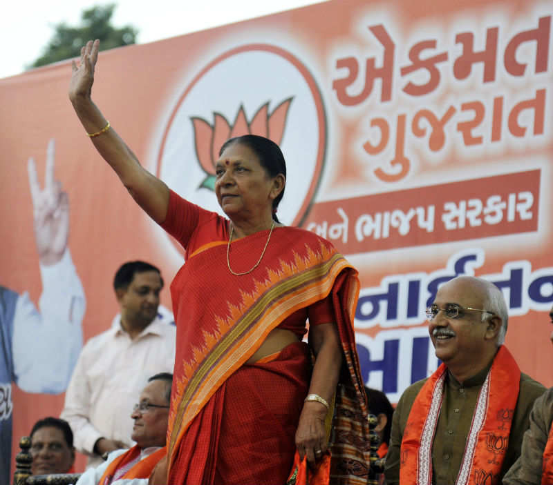 Former Gujarat CM Anandiben Patel to be Madhya Pradesh's governor - Times of India