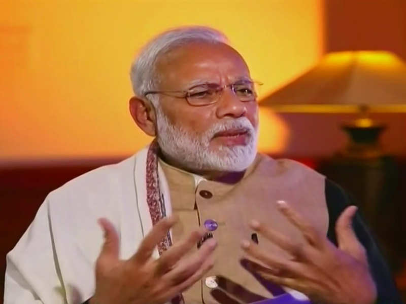 Will feel proud to tell success story of 125 crore Indians in Davos: PM Modi - Times of India