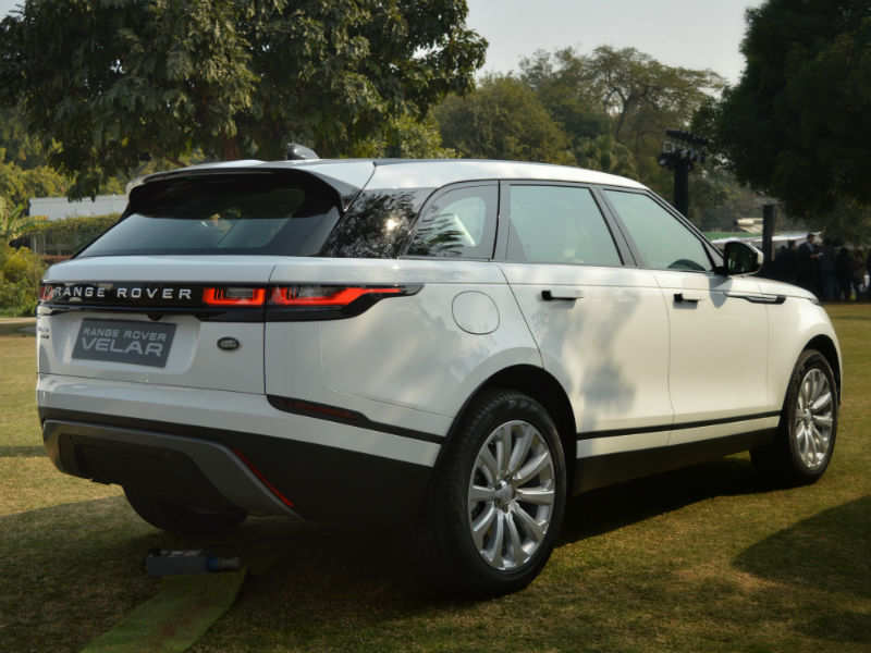 range rover velar price 2018 range rover velar suv launched at rs lakh times of india. Black Bedroom Furniture Sets. Home Design Ideas