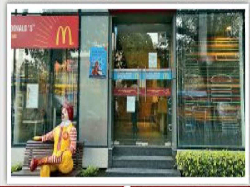 Supply issues keep McDonald's outlets shut