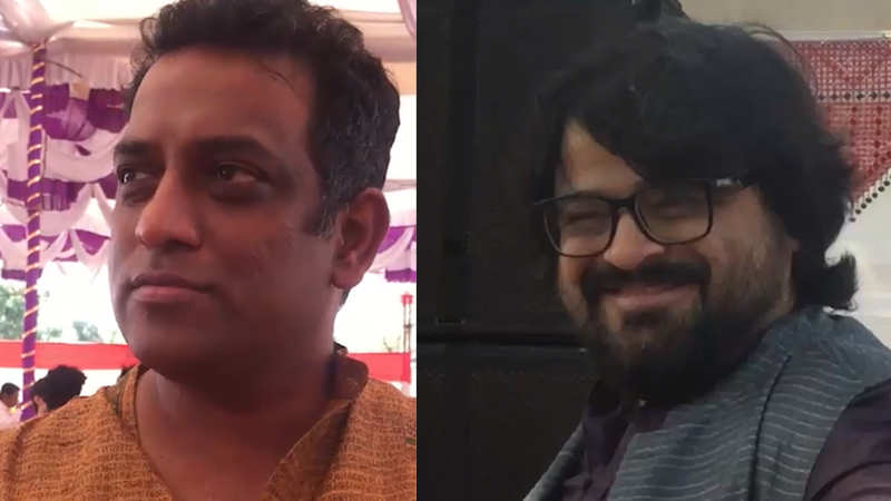anurag-basu-and-pritam-chakraborty-attend-saraswati-puja