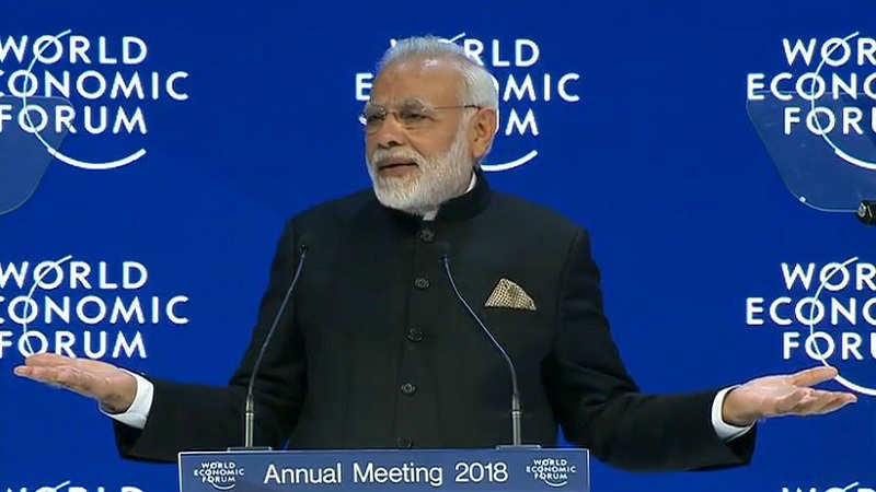 PM Modi's address at Davos: Top 10 quotes - Times of India