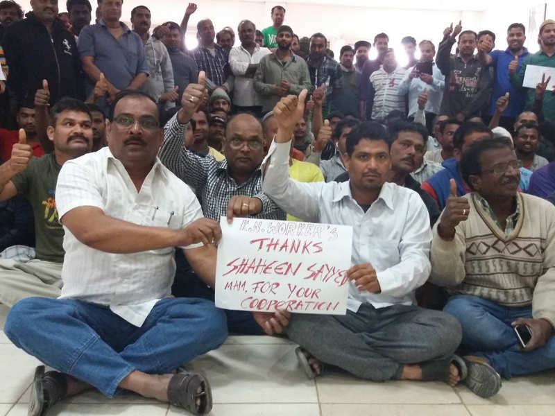 Relief for Indian workers as Kuwait announces amnesty - Times of India