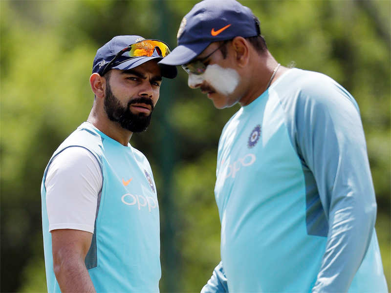 Kohli contradicts Shastri on preparation for SA series - Times of India