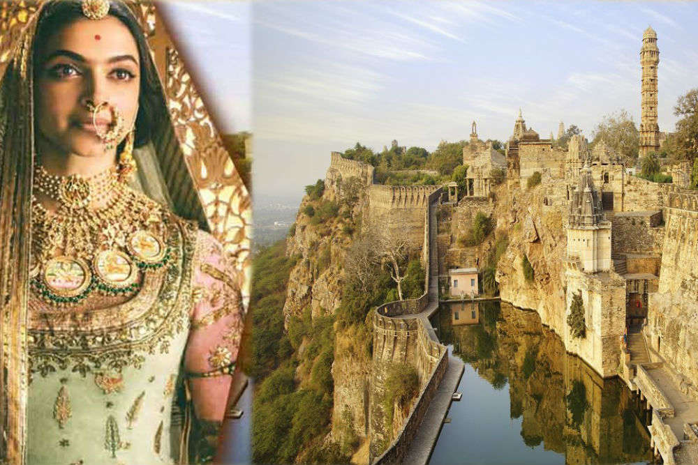 Padmaavat's Chittorgarh Fort is so much more of history and grandeur