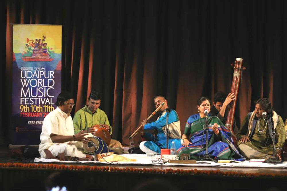 Udaipur world music fest is just the perfect event for music lovers in Feb 2018