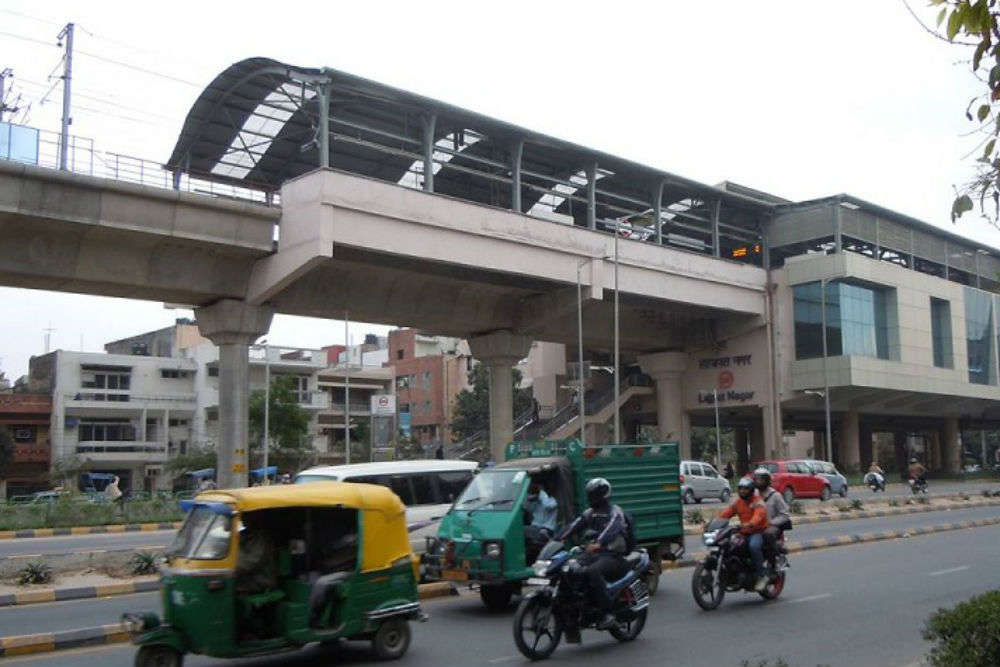 Lajpat Nagar metro station to become a major interchanging hub, to have a public plaza