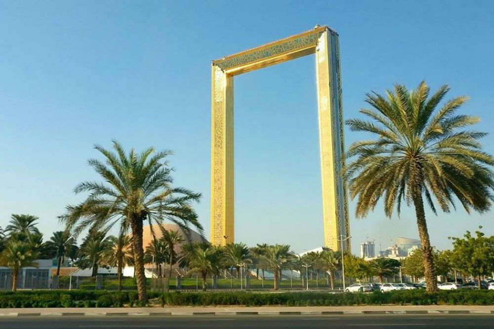 The inside-out of Dubai Frame, another jewel to Dubai Tourism!