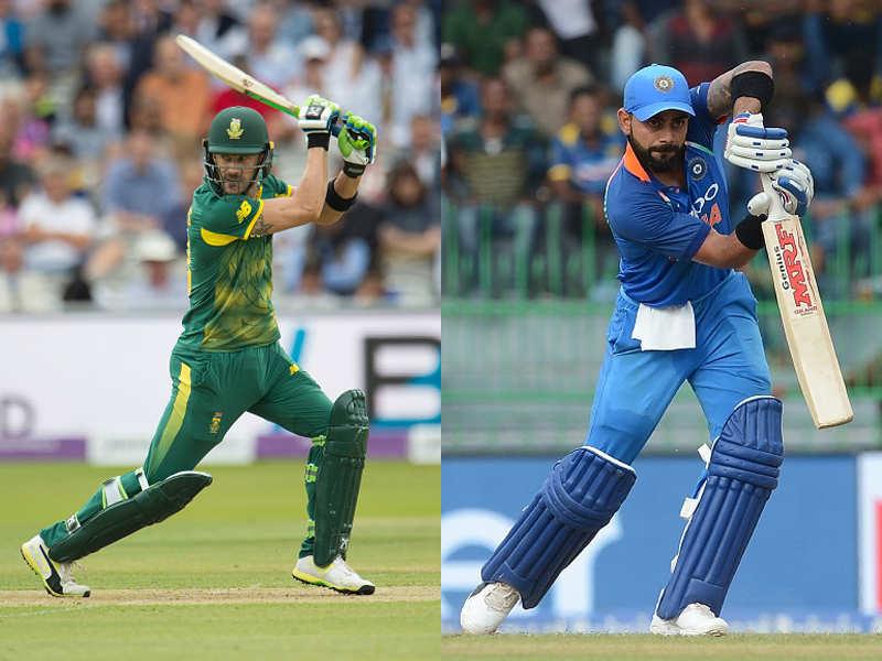 Live Cricket Score India Vs South Africa 1st Odi