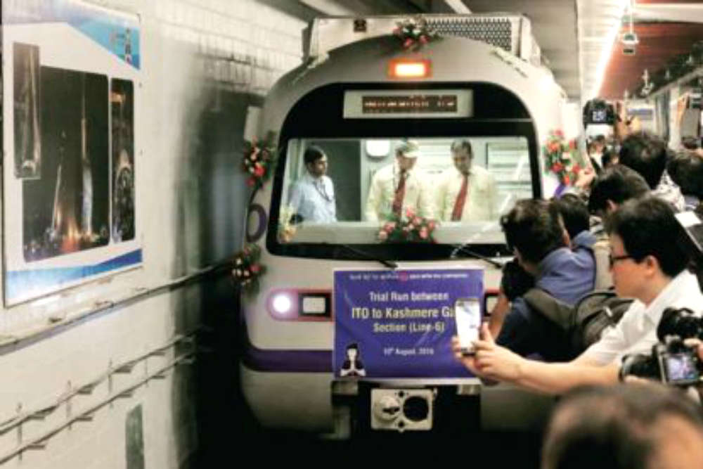 Delhi Metro's Heritage Line brings Delhi's lost history on track