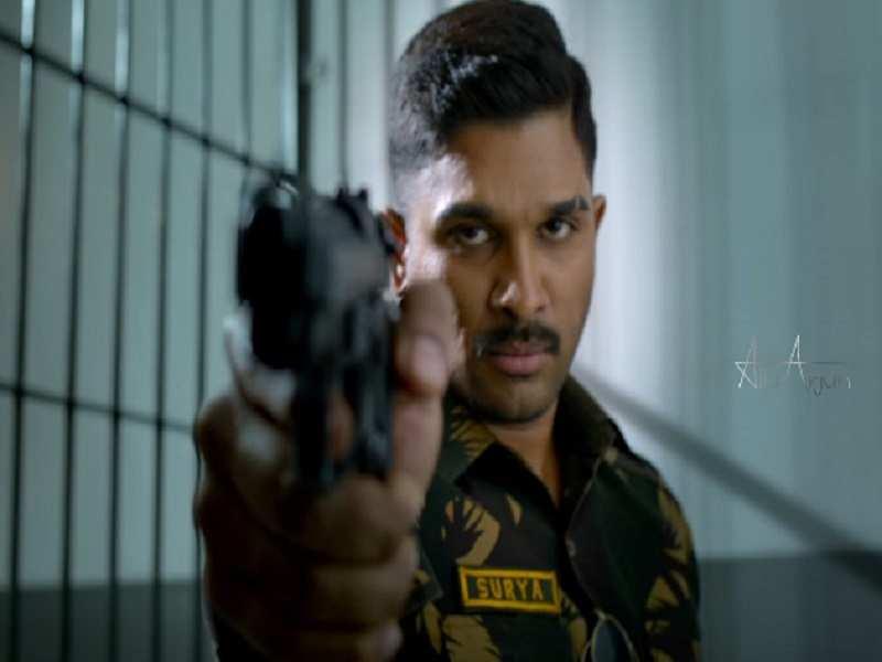 naa peru surya: 'Naa Peru Surya's' shooting progressing at Indo-Pak