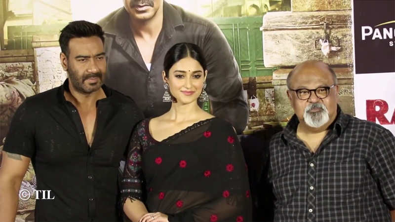 c0ace8d77 Ajay Devgn, Ileana D'Cruz, Saurabh Shukla launch the trailer of 'Raid'    Hindi Movie News - Bollywood - Times of India