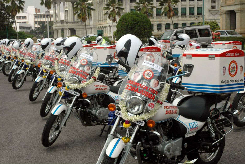 Goa to launch two-wheeler ambulance services from July