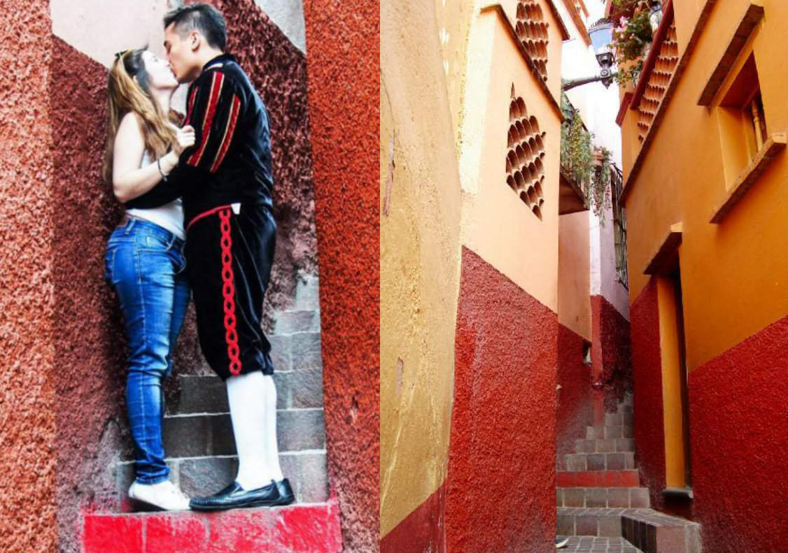 Guanajuato, Mexico, where kissing can bring you 15 years of luck