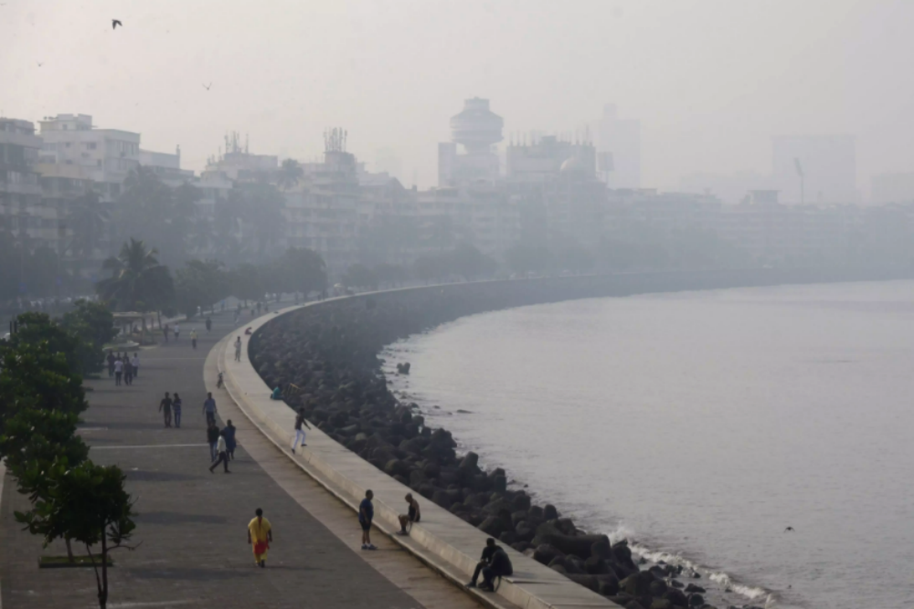 Mumbai smog – Mumbai's air quality worsens as city wakes up to a haze