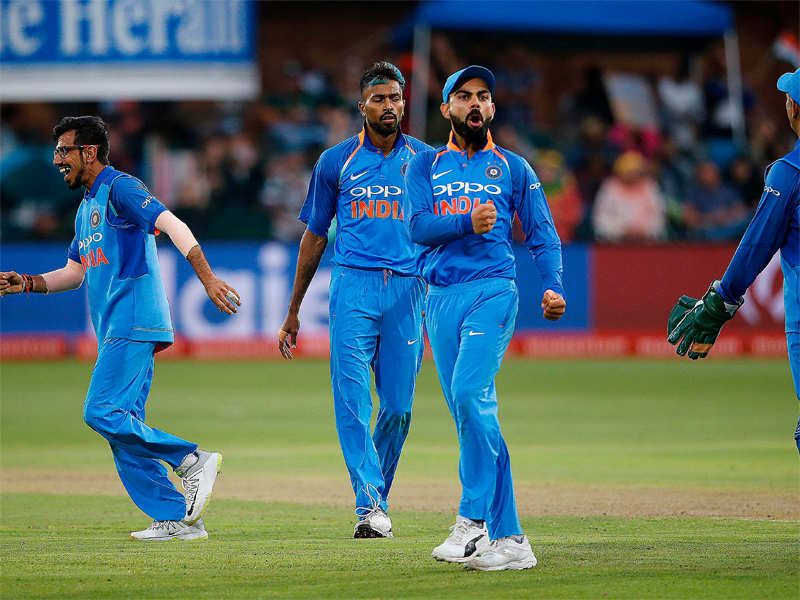 India vs South Africa, 5th ODI: Virat Kohli's Team India first to win an ODI series in SA - Times of India