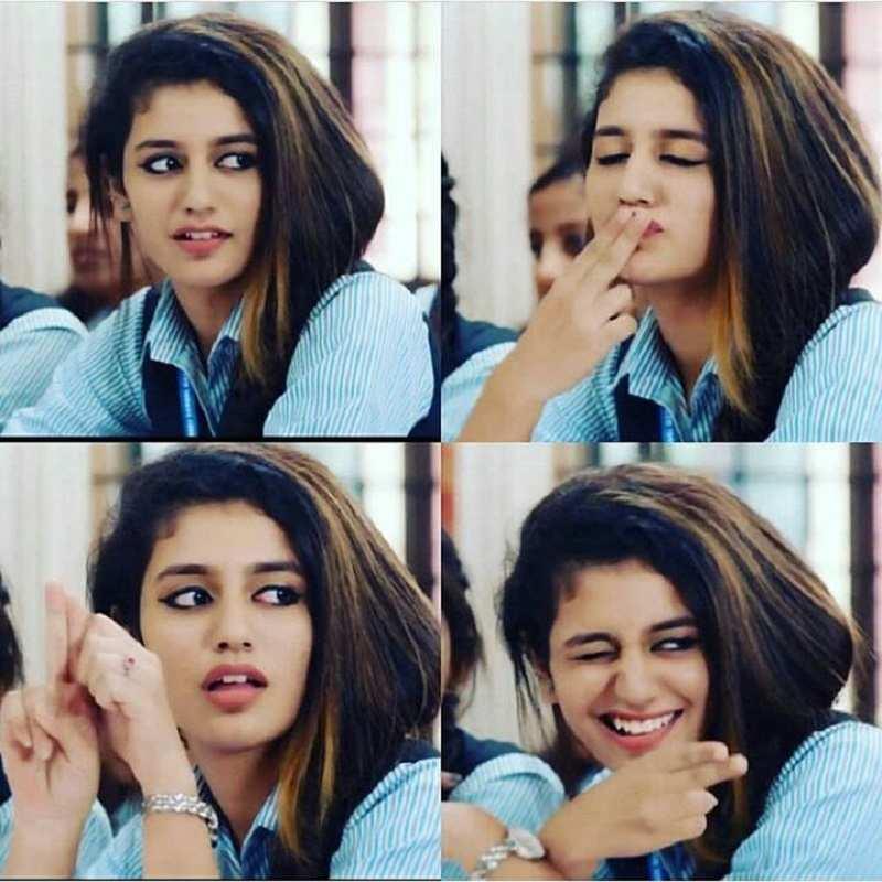 Priya Prakash Varrier Photos Wiki Bio Hot Sexy Pics Video Images Hd Pictures Of Priya Prakash Warrier