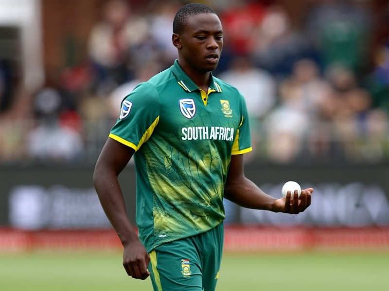 Kagiso Rabada fined for breaching ICC Code of Conduct - Times of India