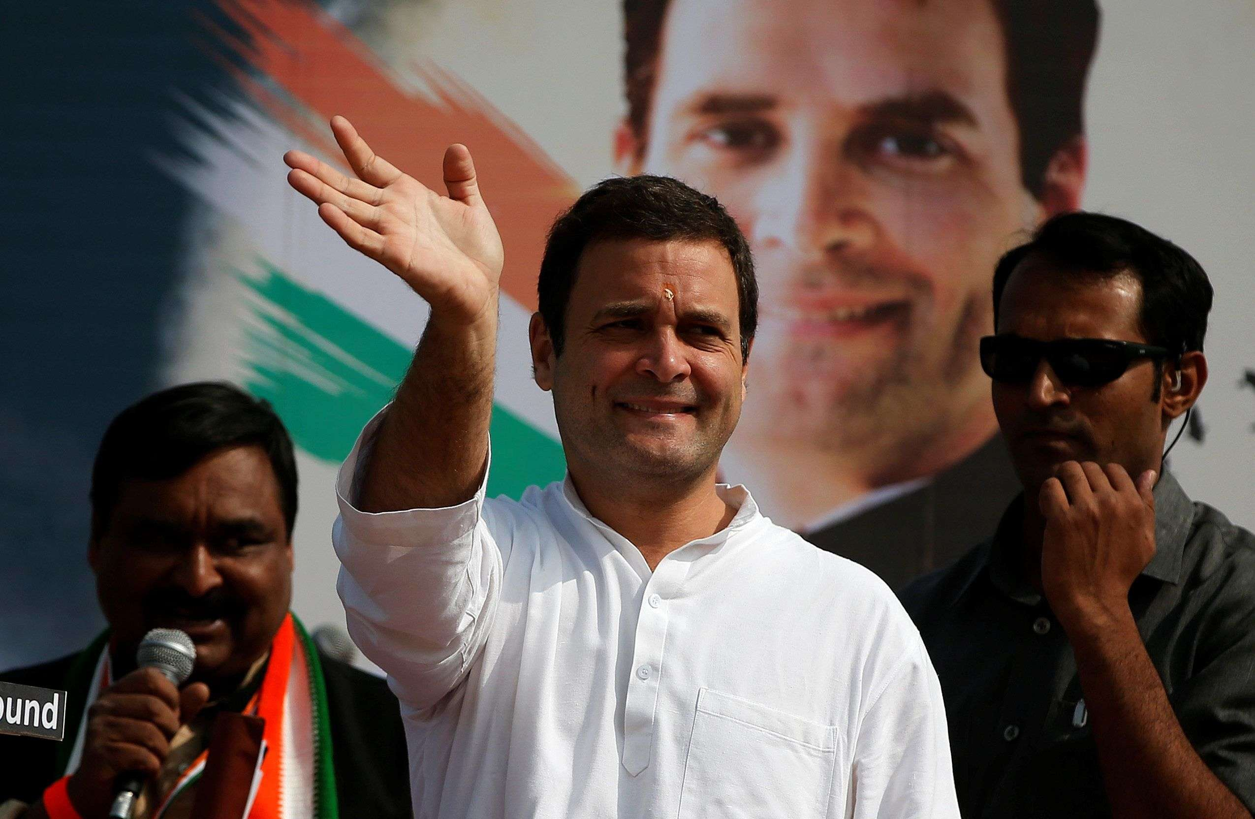 Let love win over hate, says Congress in V-day tweet - Times of India