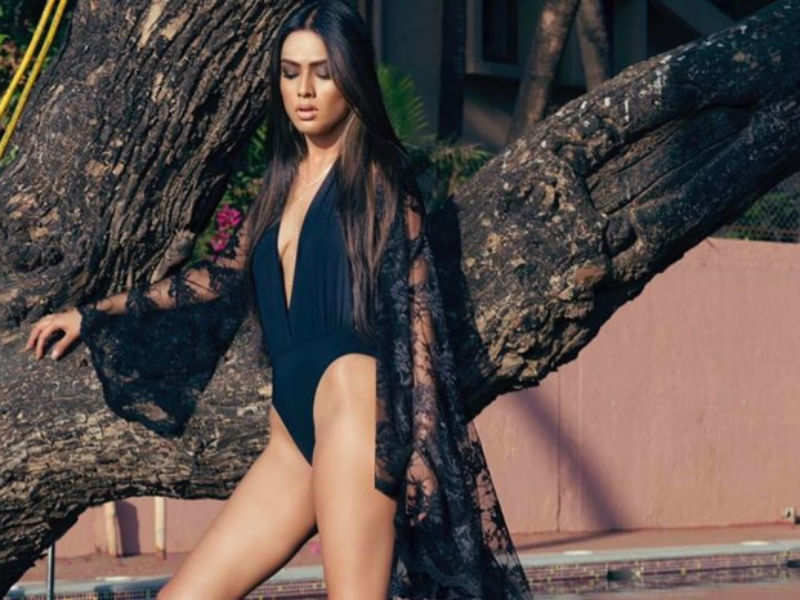 Nia Sharma celebrated Valentine's Day in a very different way, see her post - Times of India