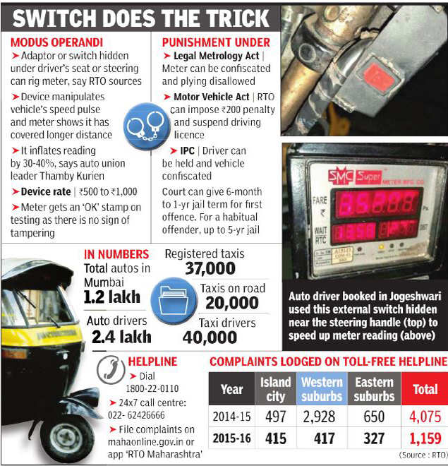 autorickshaw: Transport department turns heat on meter