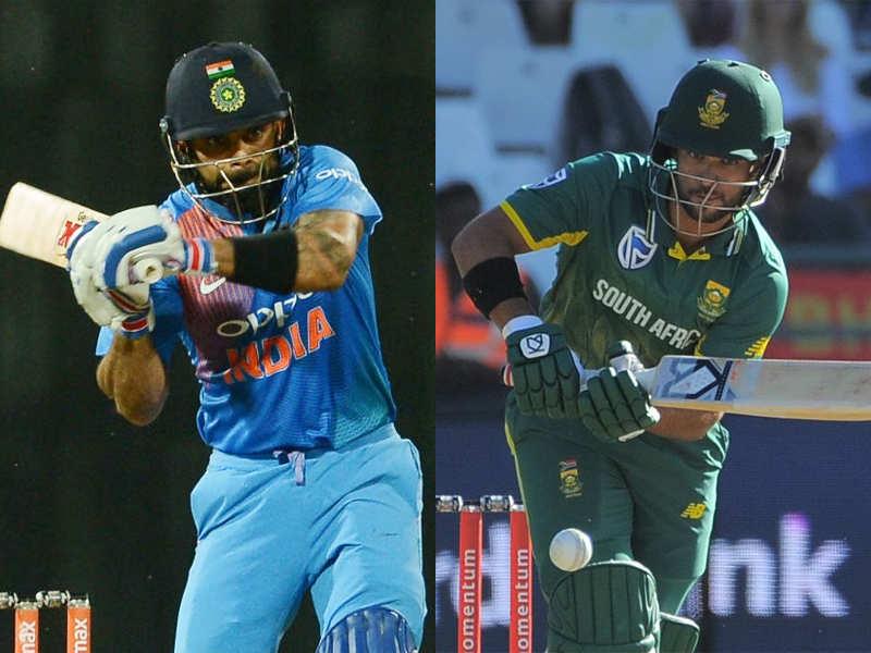 Live Cricket Score India Vs South Africa 2018 1st T20i