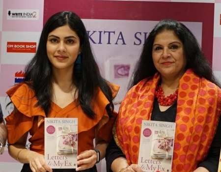 Nikita singh launches her latest book letters to my ex times of nikita singh launches her latest book letters to my ex times of india thecheapjerseys Image collections