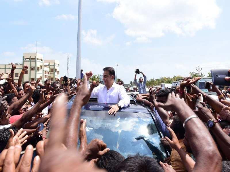 Kamal Haasan launches party 'Makkal Needhi Maiam', says we