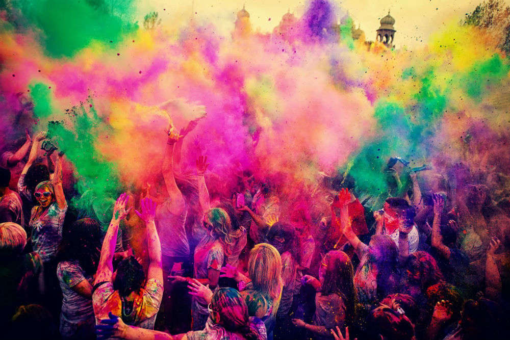 Offbeat places to celebrate Holi 2018 in India