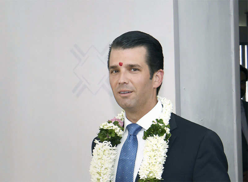 Donald Trump Jr dubs US press a disaster, says India's is fairer